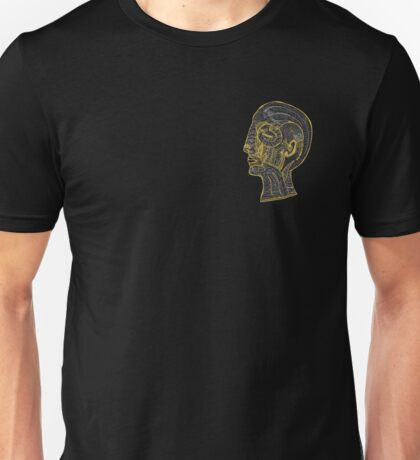 a muscley profile  Unisex T-Shirt