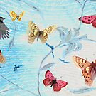 Birds and Butterflies by Carolynne