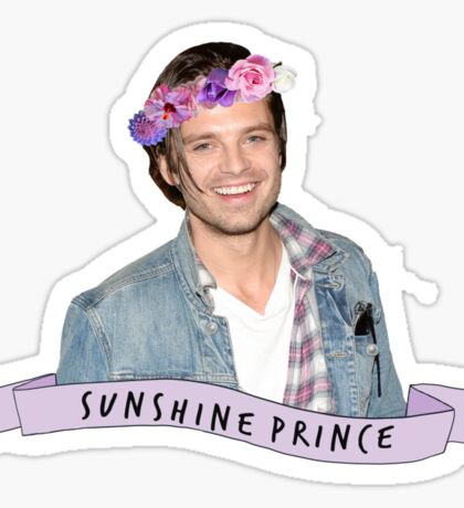 Stan - Sunshine Prince Sticker