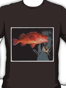 Red Snapper and Squid T-Shirt