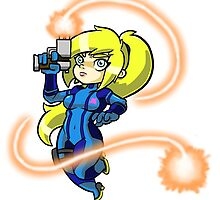 Zero Suit Samus [Cute Version] by goshdangtravino