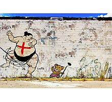 Chinese Takeout Street Art London Urban Wall Graffiti Artist Prolifik Photographic Print