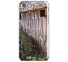 Gristmill at Cades Cove iPhone Case/Skin