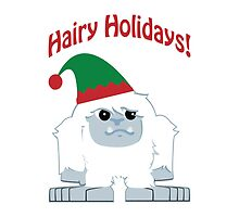Hairy Holidays! Yeti by Eggtooth