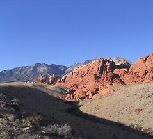 Red Rock Canyon, Las Vegas by Tanyamcaleer