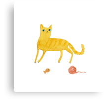 Nice Ginger Cat Canvas Print