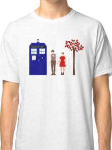 Clara and the 11th Doctor Classic T-Shirt