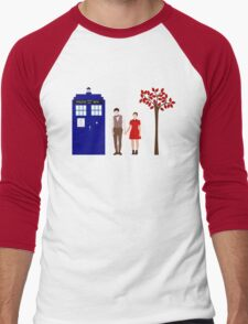 Clara and the 11th Doctor Men's Baseball ¾ T-Shirt