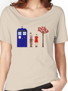 Clara and the 11th Doctor Women's Relaxed Fit T-Shirt