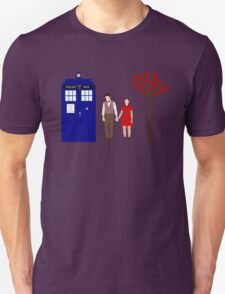 Clara and the 11th Doctor Unisex T-Shirt