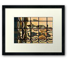 Reflex•15 Framed Print