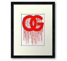 OG Drips 3 Framed Print