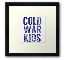 Cold War Kids Framed Print