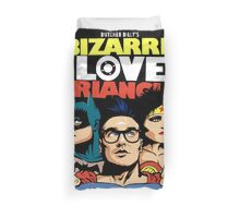Butcher Billy's Bizarre Love Triangle: The Post-Punk Edition Duvet Cover