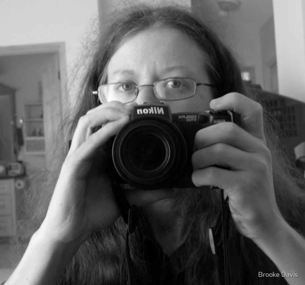 Self Portrait Behind My Lens by Brooke Davis