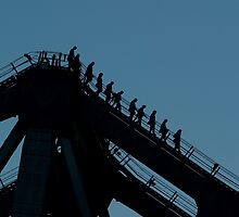 Storey Bridge Climbers by BigRed