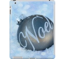 Noel ~ Merry Christmas  iPad Case/Skin