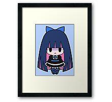 Stocking Chibi Framed Print
