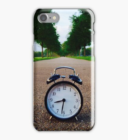 Time Moves On iPhone Case/Skin