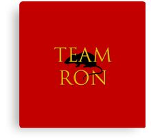 Team Ron Canvas Print