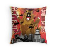 Squirrel's Revenge Part II Throw Pillow