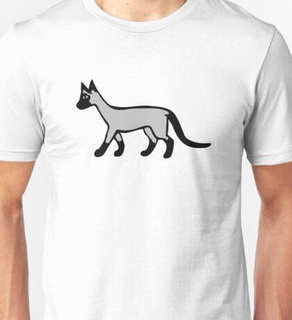 Siam cat Unisex T-Shirt