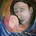 The Nativity - Mother and Child by tusitalo