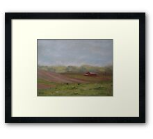 Migrant Camp from Sand Hill Framed Print