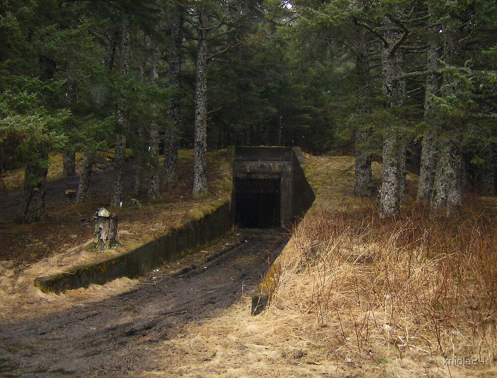 WWII Bunker by kniola24