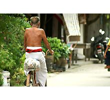 The Cyclist Photographic Print