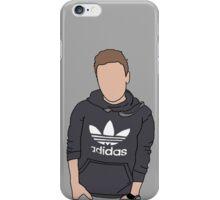 Liam Payne Adidas Cartoon (Grey) iPhone Case/Skin
