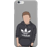 Liam Payne Adidas Cartoon (Grey) iPhone Case/Skin