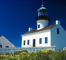 Point Loma Lighthouse by Elizabeth Heath