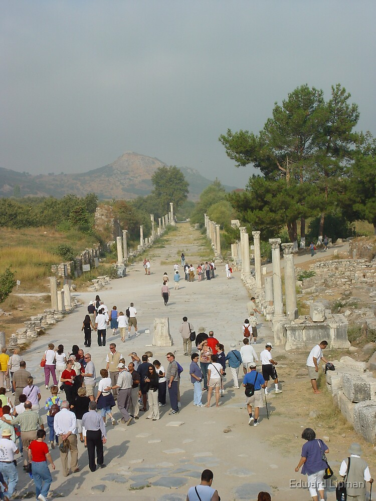 Ephesus, Turkey by Edward Lipman