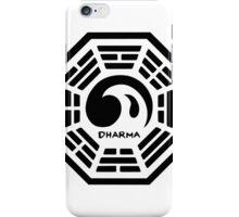 Dharma Wave Logo iPhone Case/Skin