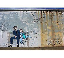 Knocked up Street Art London Urban Wall Graffiti Artist Prolifik  Photographic Print