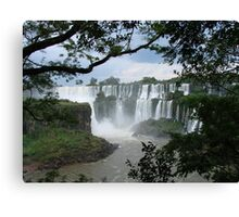 Iguasu Falls , Brazil Canvas Print