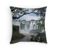 Iguasu Falls , Brazil Throw Pillow