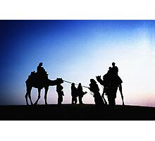 Jaisalmer Camels Photographic Print