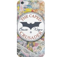 Batman wears chucks. iPhone Case/Skin
