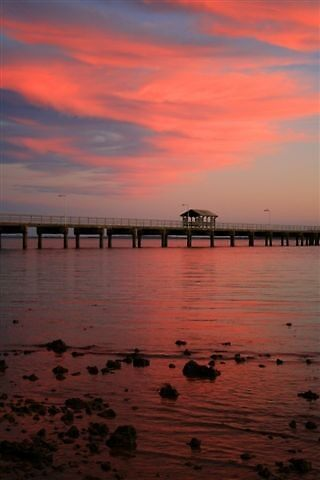 Woodypoint Jetty,  Queensland   Australia by smurf