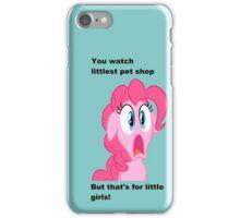 Pinkie Pie is Shocked iPhone Case/Skin