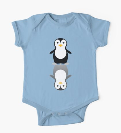 LONELY PENGUIN REFLECTING One Piece - Short Sleeve