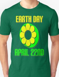 EARTH DAY-GREEN T-Shirt