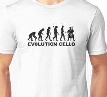 Evolution Cello Unisex T-Shirt