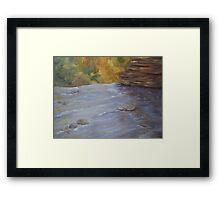 Above Wolf Creek Falls Framed Print