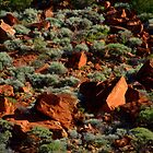 Red Rocks by Bryan Cossart
