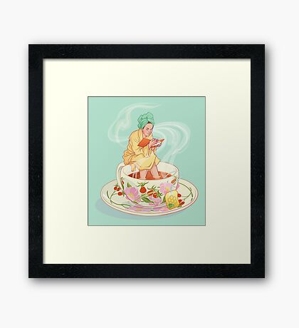 Cure for the common cold Framed Print