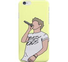 Niall Horan Crazy Mofos Cartoon (Yellow) iPhone Case/Skin