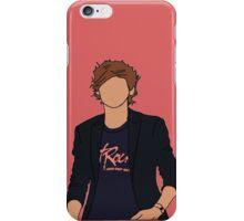 Louis Tomlinson Hot Rock Cartoon (Red) iPhone Case/Skin